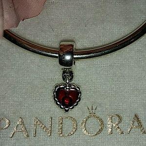 Pandora's Forever ❤️ dangle Retired Charm
